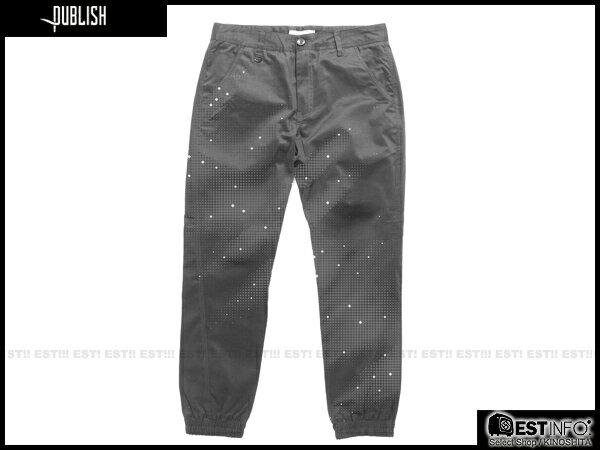 【EST】PUBLISH DAX JOGGER 3M 反光 束口褲 [PL-5092-165] W28~34 E0930 0