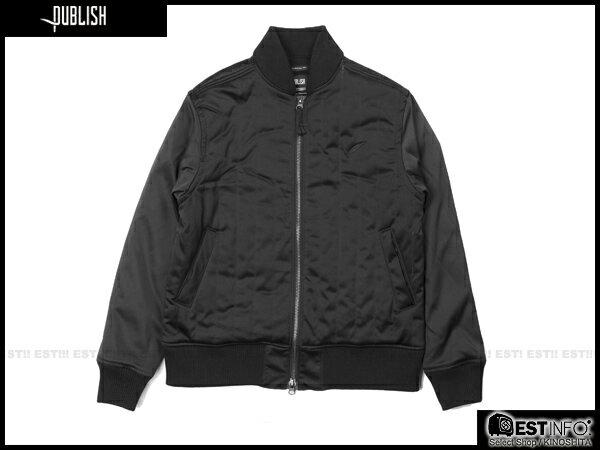 【EST】Publish Rico 鋪棉 拼色 軍裝 外套 [PL-5106-002] 黑 S~L E0930 0