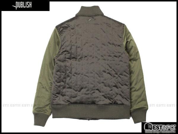 【EST】Publish Rico 鋪棉 拼色 軍裝 外套 [Pl-5106-086] 深藍 S~L E0930 1