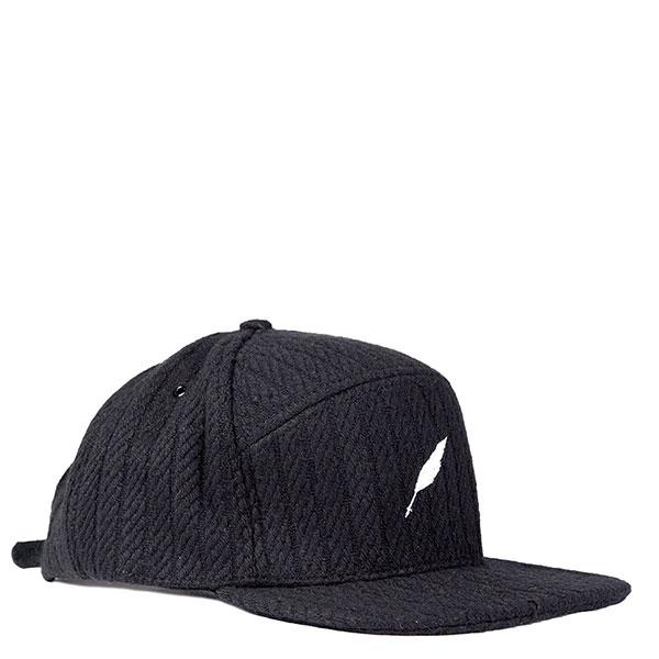 【EST】PUBLISH NOLAN SNAPBACK 五分割帽 棒球帽 [PL-5118] 黑/酒紅 E1104 0