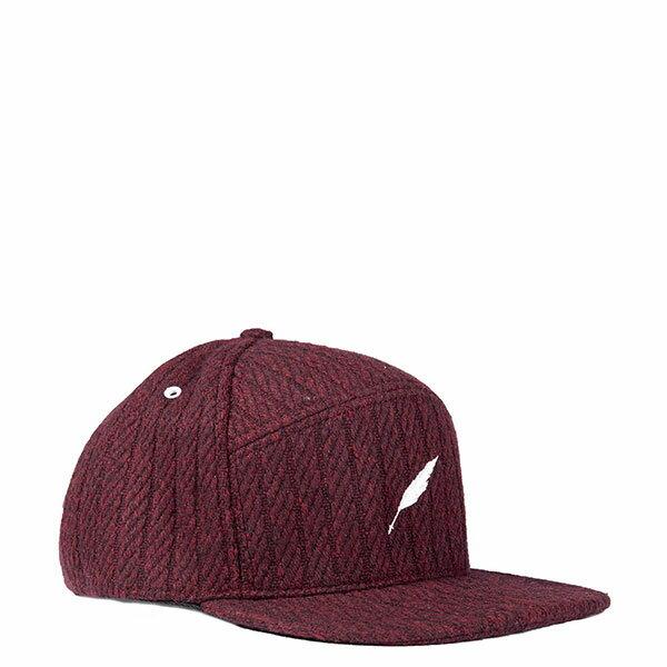 【EST】PUBLISH NOLAN SNAPBACK 五分割帽 棒球帽 [PL-5118] 黑/酒紅 E1104 1