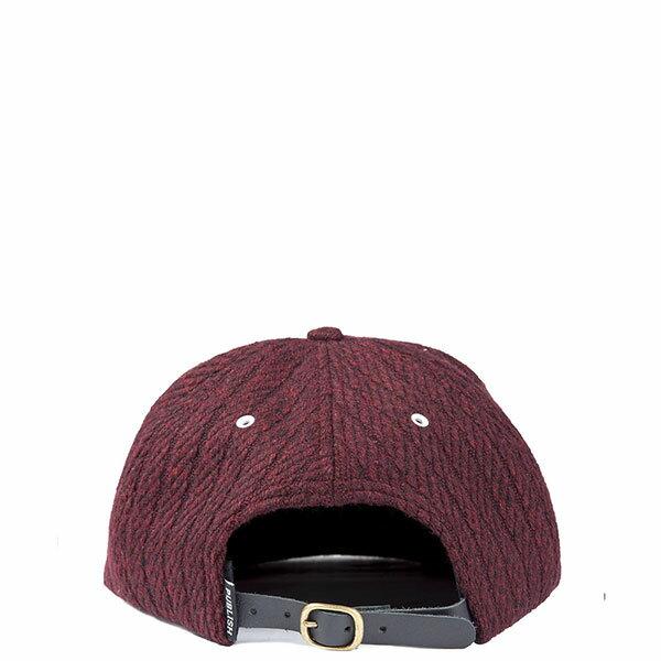 【EST】PUBLISH NOLAN SNAPBACK 五分割帽 棒球帽 [PL-5118] 黑/酒紅 E1104 2