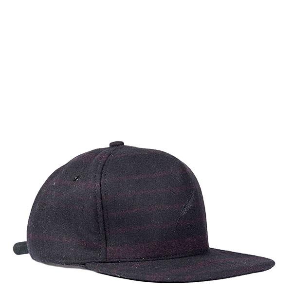 【EST】PUBLISH ROARKE SNAPBACK 羊毛氈 棒球帽 [PL-5119] 黑/酒紅 E1104 1