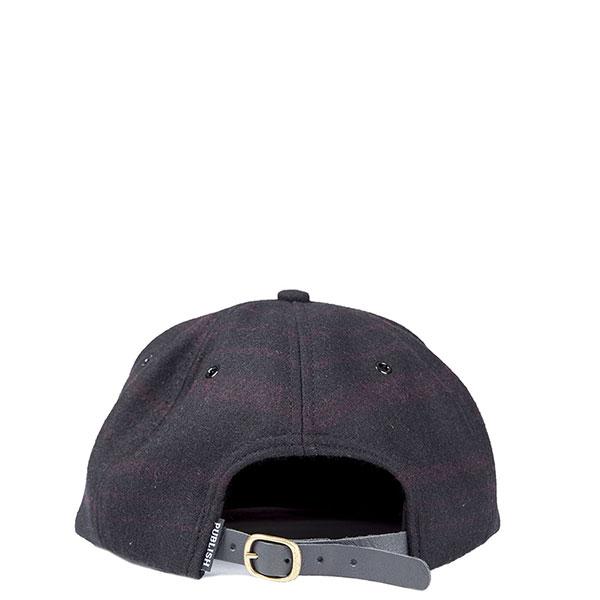 【EST】PUBLISH ROARKE SNAPBACK 羊毛氈 棒球帽 [PL-5119] 黑/酒紅 E1104 2