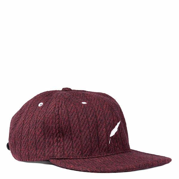 【EST】Publish Wesley Snapback 棒球帽 [Pl-5122] 黑/酒紅 E1104 1