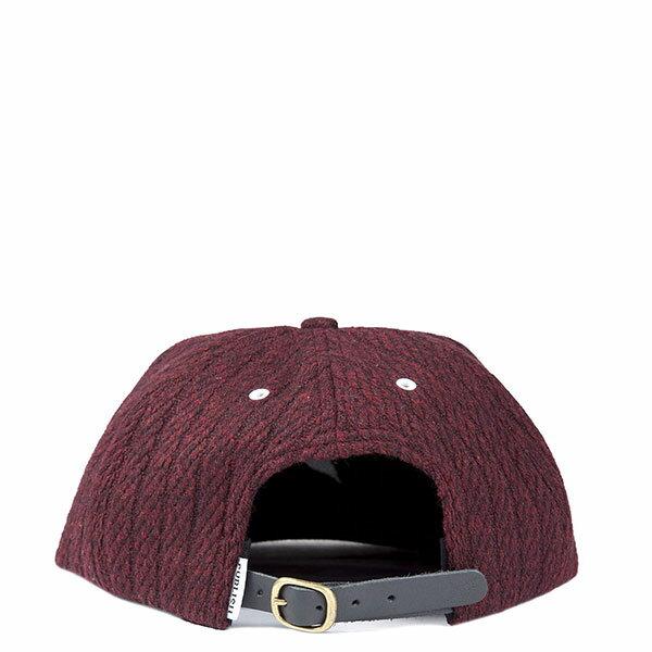 【EST】Publish Wesley Snapback 棒球帽 [Pl-5122] 黑/酒紅 E1104 2