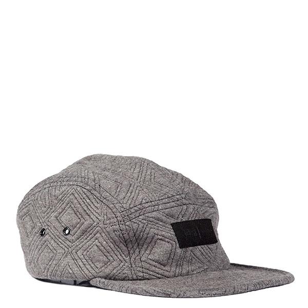 【EST】Publish Amena Snapback 壓紋 五分割帽 棒球帽 [Pl-5126] 黑/鐵灰 E1104 1