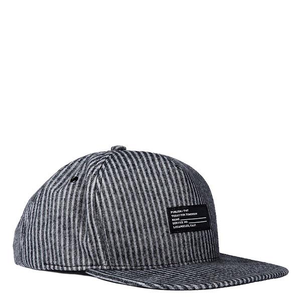 【EST】PUBLISH THEOPHILUS SNAPBACK 條紋 棒球帽 [PL-5127] 黑 E1104 0