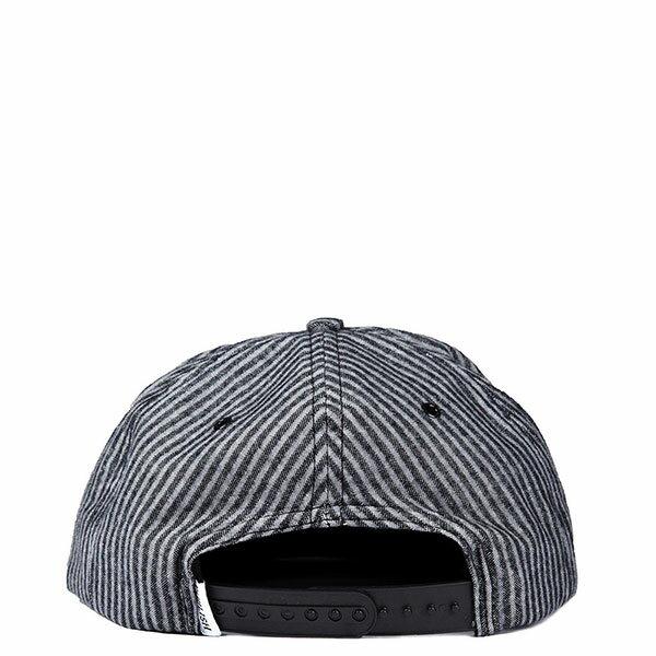【EST】PUBLISH THEOPHILUS SNAPBACK 條紋 棒球帽 [PL-5127] 黑 E1104 1