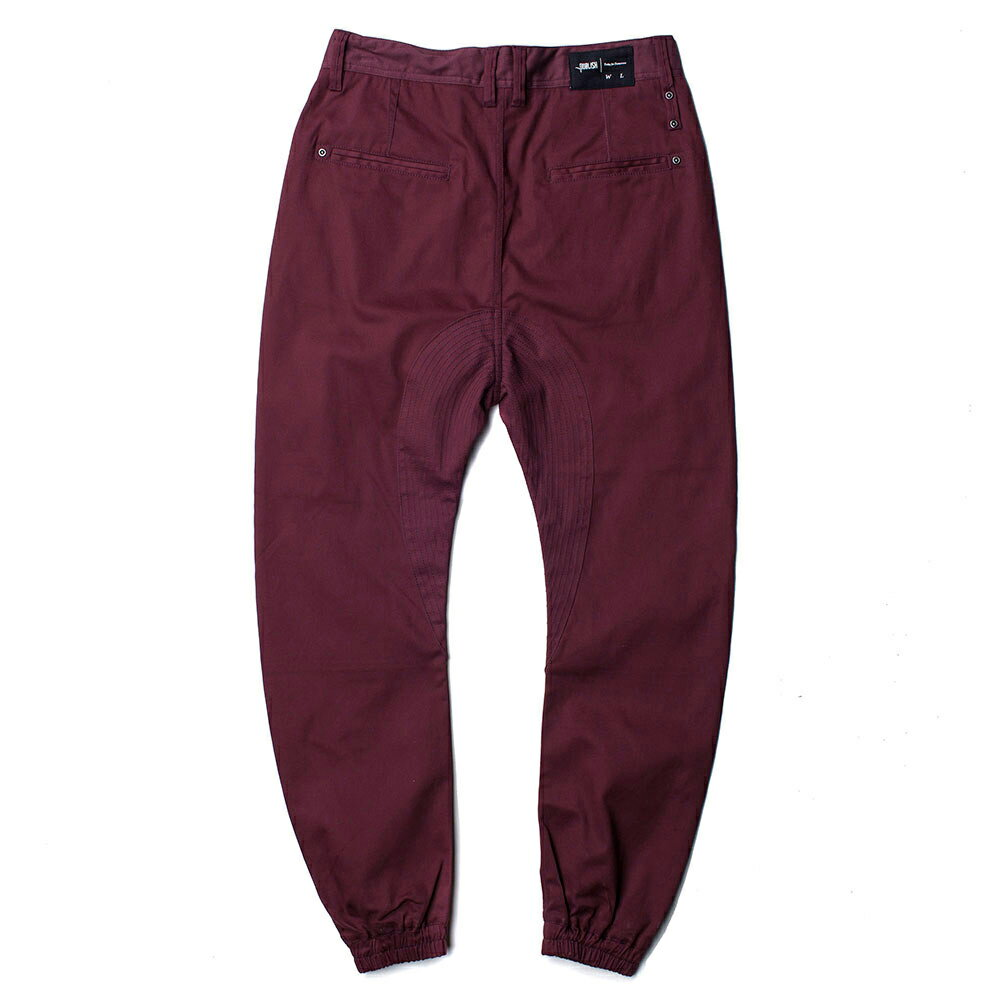 【EST】PUBLISH NEWTON JOGGER PANTS 束口褲 酒紅 [PL-5200-072] W28~34 E1127 1