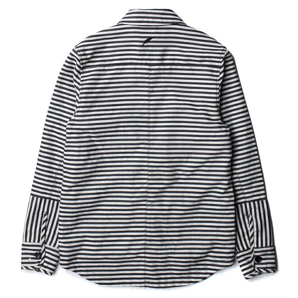 【EST】PUBLISH ANDRES JACKET 條紋 襯衫 外套 黑 [PL-5214-002] S~L E1127 1