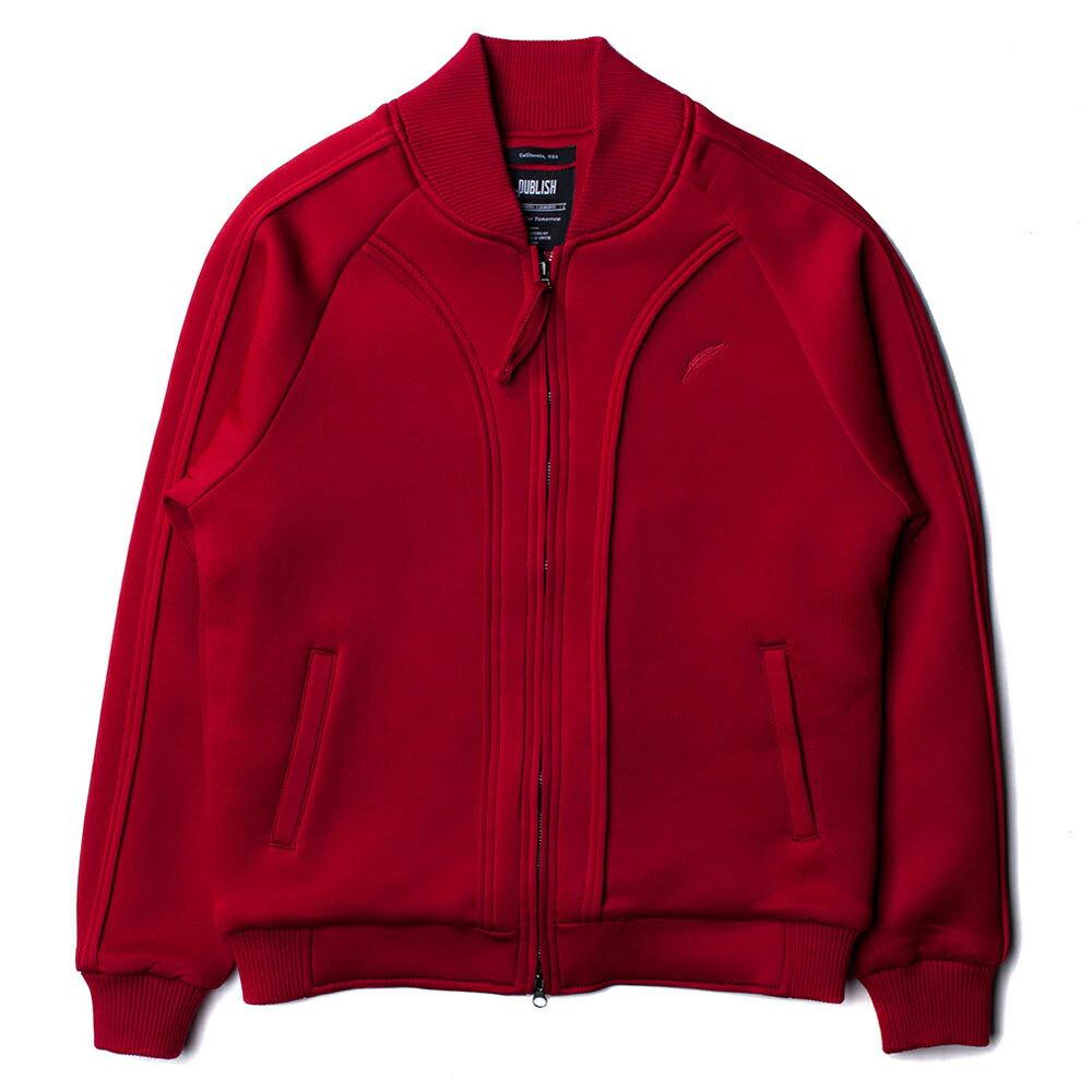 【EST】PUBLISH SNYDER JACKET 運動 棒球 外套 紅 [PL-5215-072] S~L E1127 0