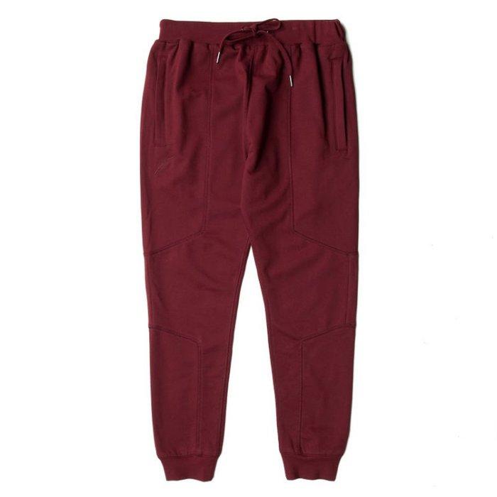 【EST】Publish Fleece Buck Jogger 束口褲 棉褲 [PL-5222-069] 酒紅 W28~W36 F0126 0