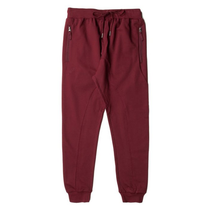 【EST】PUBLISH FLEECE ALEK JOGGER 束口褲 棉褲 [PL-5223-069] 酒紅 W28~W36 F0126 0
