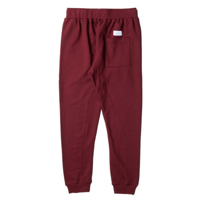 【EST】PUBLISH FLEECE ALEK JOGGER 束口褲 棉褲 [PL-5223-069] 酒紅 W28~W36 F0126 1