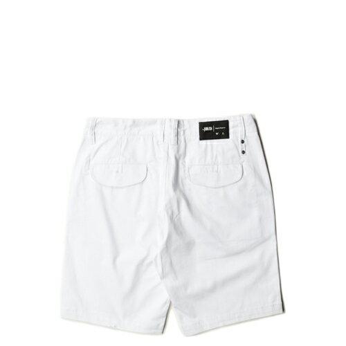 【EST】PUBLISH SLOAN 工作褲 短褲 五分褲 [PL-5254-001] 白 W28~34 F0221 1