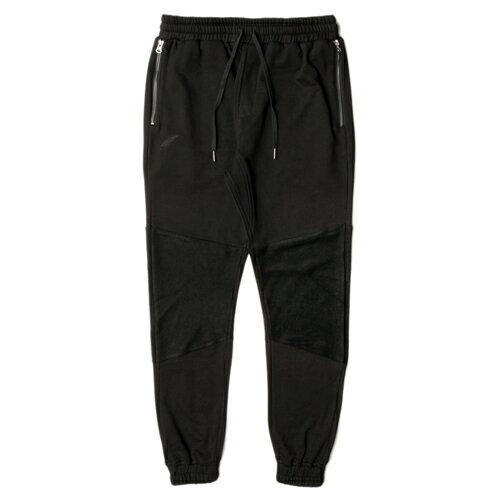【EST】PUBLISH GARNER 拼接 束口褲 棉褲[PL-5256-002] 黑 W28~36 F0221 0
