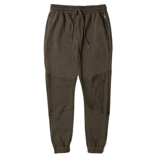 【EST】PUBLISH GARNER 拼接 束口褲 棉褲[PL-5256-036] 橄欖綠 W28~36 F0221 0