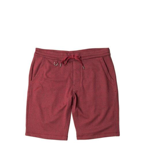 【EST】PUBLISH PARKER 棉褲 短褲 五分褲 [PL-5260-072] 酒紅 W28~34 F0221 0