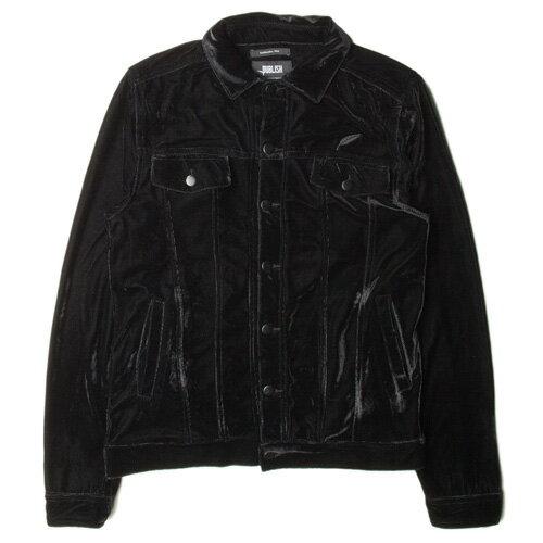 【EST】PUBLISH LESTER 絨布 口袋 牛仔 夾克 外套 [PL-5264-002] 黑 F0221 0