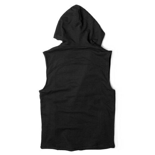 【EST】PUBLISH VON 內刷毛 連帽 背心 外套 [PL-5265-002] 黑 S~M F0221 1