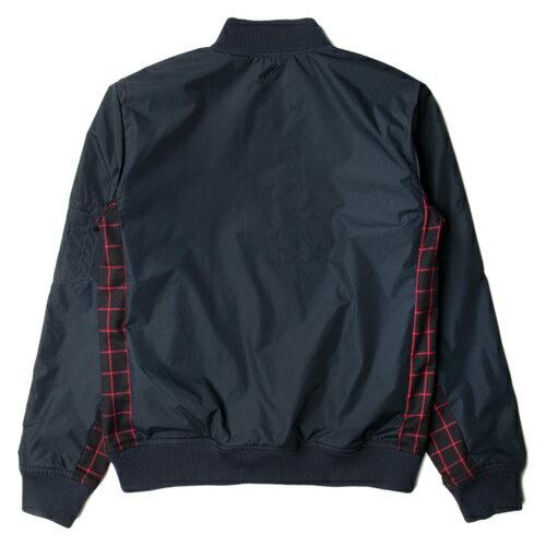 【EST】PUBLISH EDUARD 拼接 格紋 運動 棒球 外套 [PL-5266-086] 藍 S~M F0221 1