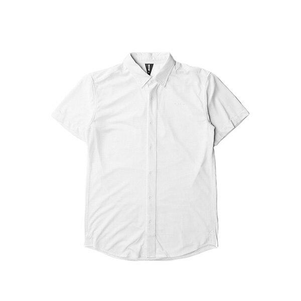 【EST】PUBLISH MONO 2 GENEVO 運動 網布 短袖 襯衫白 [PL-5274-001] F0417 0