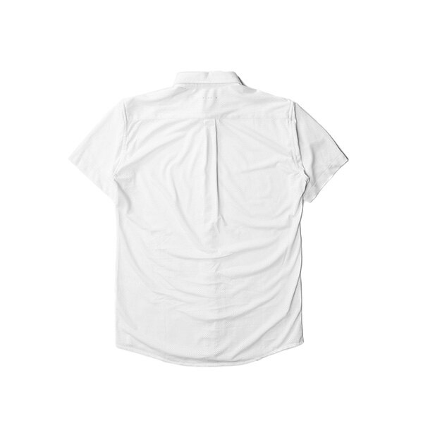 【EST】Publish Mono 2 Genevo 運動 網布 短袖 襯衫白 [PL-5274-001] F0417 1