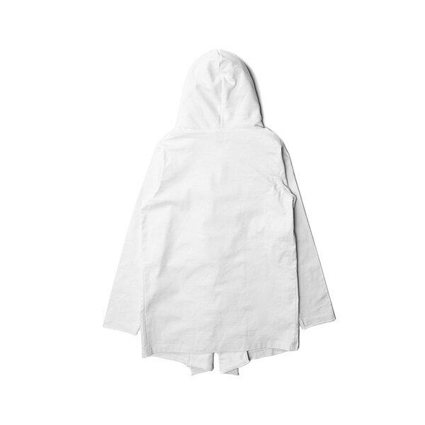 【EST】PUBLISH MONO 2 KONRAD 運動 連帽 開襟 外套 白 [PL-5276-001] F0417 1