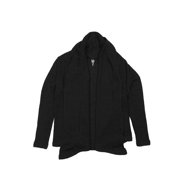 【EST】PUBLISH MONO 2 ENDRE 針織 開襟 短版 外套 黑 [PL-5281-002] F0417 0