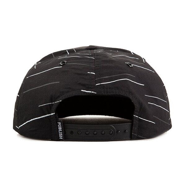 【EST】PUBLISH REESE 3M 反光 後扣 棒球帽 黑 [PL-5304-002] F0417 1