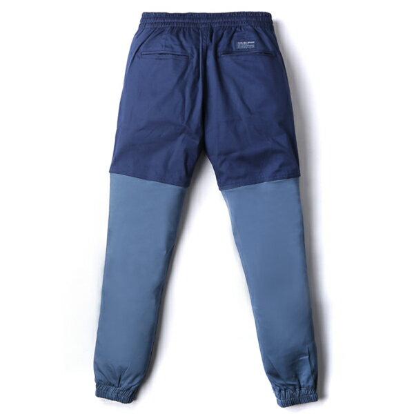 【EST】Publish Two-Tone Jogger Pants 束口褲 深藍 淺藍 [PL-5309-086] F0508 1