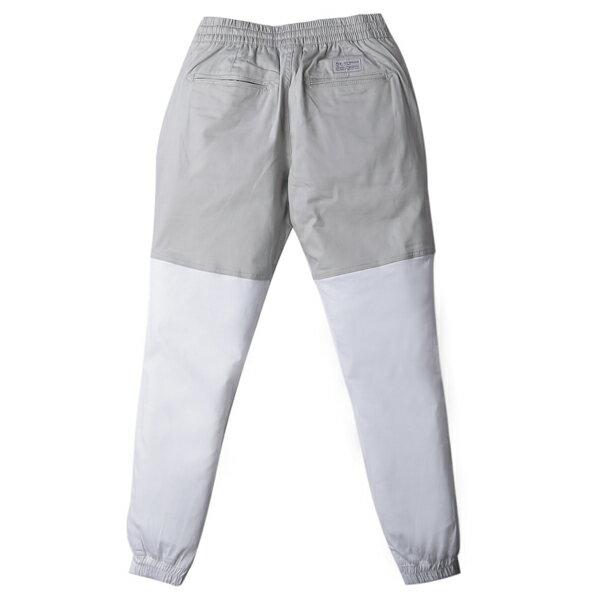 【EST】Publish Two-Tone Jogger Pants 束口褲 灰 白 [PL-5312-007] F0508 1