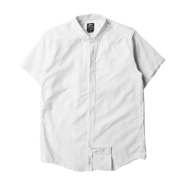 【EST】PUBLISH DINGO 素面 短袖 襯衫 白 [PL-5316-001] S~L F0529 0