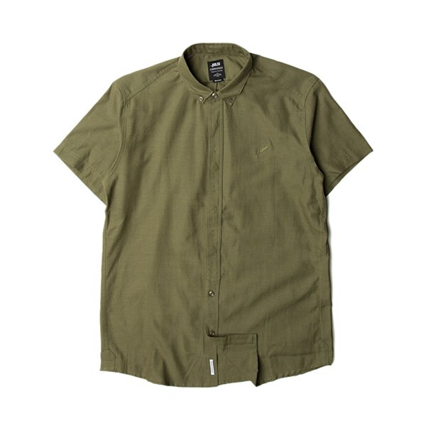 【EST】Publish Dingo 素面 短袖 襯衫 墨綠 [PL-5316-035] S~L F0529 0