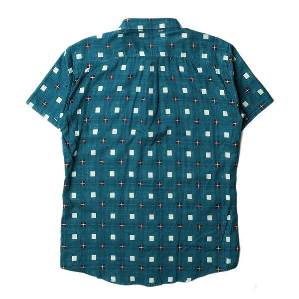 【EST】PUBLISH STINSON 拚色 格紋 短袖 襯衫 綠 [PL-5320-029] S~L F0529 1