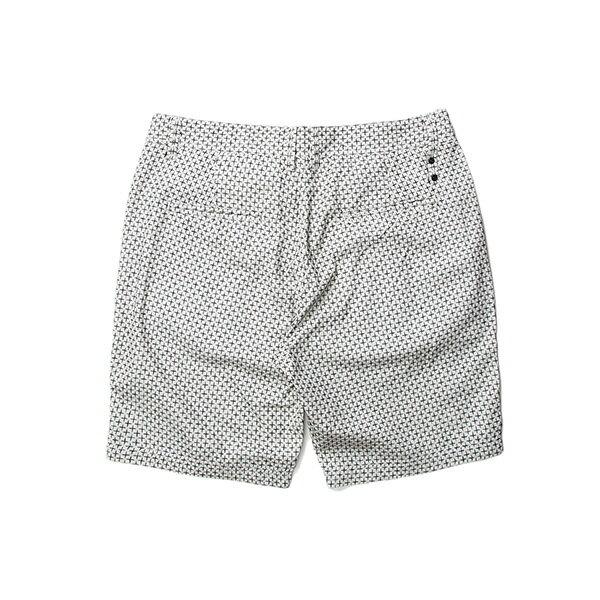 【EST】Publish Amadeus 十字紋 短褲 五分褲 白 [PL-5321-001] W28~34 F0529 1