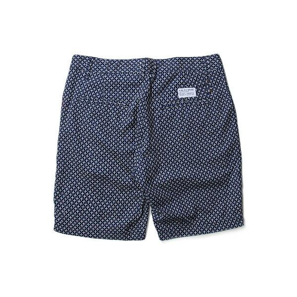 【EST】PUBLISH AMADEUS 十字紋 短褲 五分褲 藍 [PL-5321-086] W28~34 F0529 1