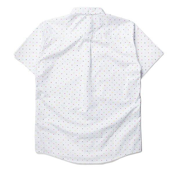 【EST】PUBLISH CLINT 彩色 點點 短袖 襯衫 白 [PL-5329-001] S~L F0529 1