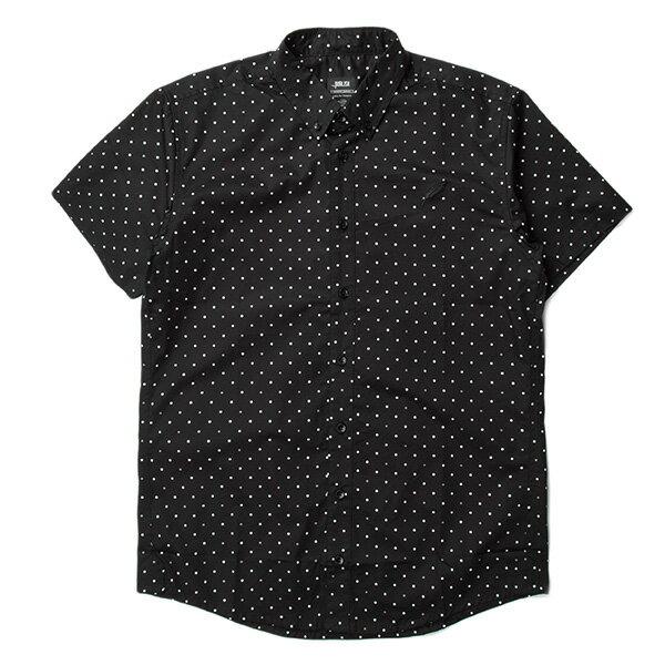 【EST】PUBLISH CLINT 3M 反光 點點 短袖 襯衫 黑 [PL-5329-002] S~L F0529 0
