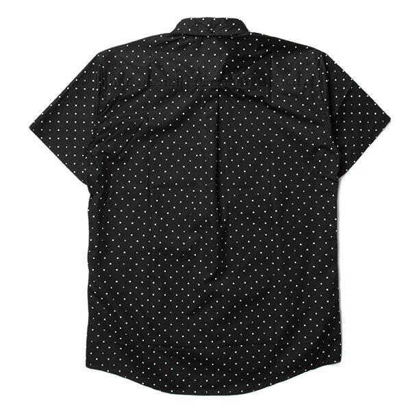 【EST】PUBLISH CLINT 3M 反光 點點 短袖 襯衫 黑 [PL-5329-002] S~L F0529 1