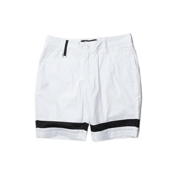 【EST】PUBLISH GAUGUIN 拚色 短褲 五分褲 白 [PL-5333-001] W28~34 F0529 0