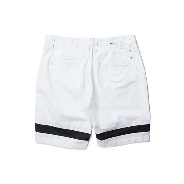 【EST】PUBLISH GAUGUIN 拚色 短褲 五分褲 白 [PL-5333-001] W28~34 F0529 1
