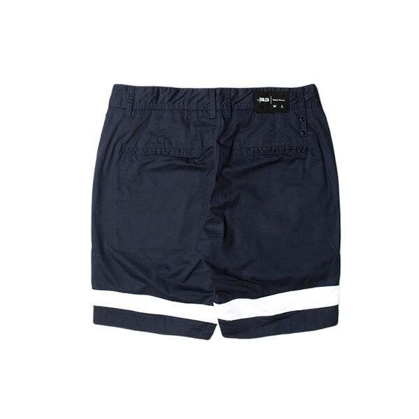 【EST】PUBLISH GAUGUIN 拚色 短褲 五分褲 藍 [PL-5333-086] W28~36 F0529 1