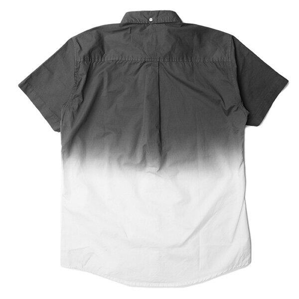 【EST】PUBLISH OMER 拚色 漸層 短袖 襯衫 灰白 [PL-5337-007] S~L F0529 1