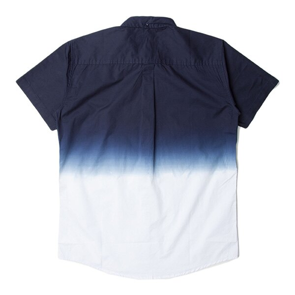 【EST】PUBLISH OMER 拚色 漸層 短袖 襯衫 藍白 [PL-5337-086] S~L F0529 1