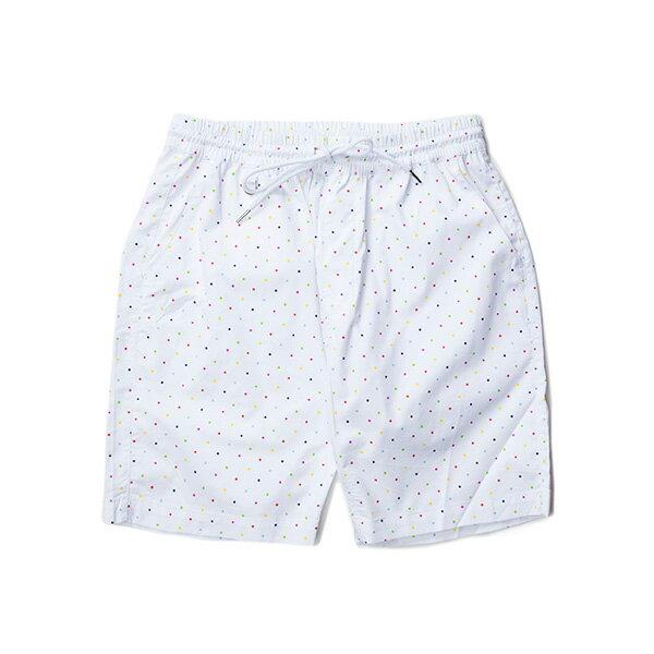 【EST】PUBLISH SIMON 彩色 點點 短褲 五分褲 白 [PL-5338-001] W28~34 F0529 0