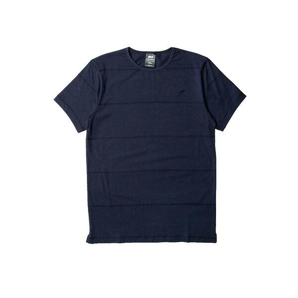 【EST】PUBLISH PARC 素面 條紋 短TEE 藍 [PL-5341-086] S~L F0609 0