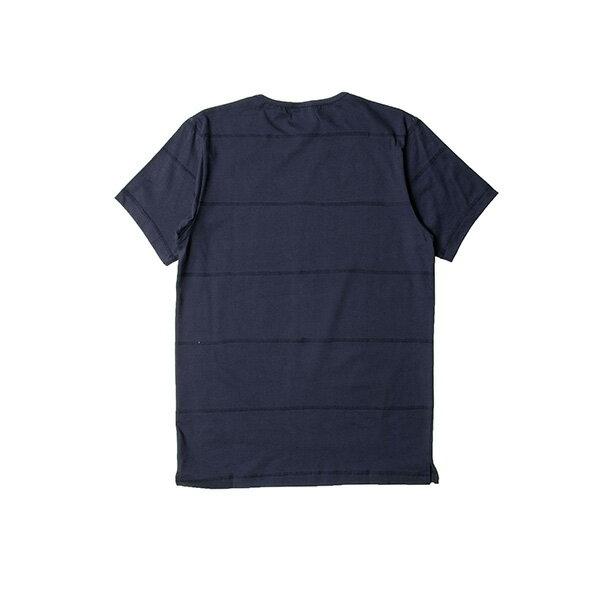 【EST】PUBLISH PARC 素面 條紋 短TEE 藍 [PL-5341-086] S~L F0609 1