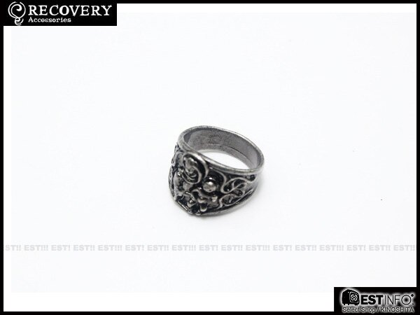 【EST】Recovery Doubt-Mariacross Necklace & Pray-Maria Ring 骷髏 宗教 戒指 [Rc-2036] 古銀/古銅/亮黑 D0306 1